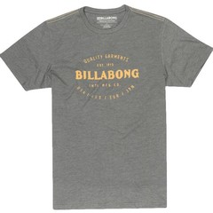 Billabong Brewery SS T-Shirt Dark Grey Heather