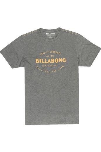 Billabong Brewery SS T-Shirt Dark Grey Heather