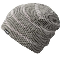 Dakine Tall Boy Beanie Hat Charcoal Grey Stripe