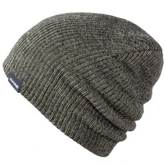 Dakine Tall Boy Beanie Hat Heather Black Charcoal