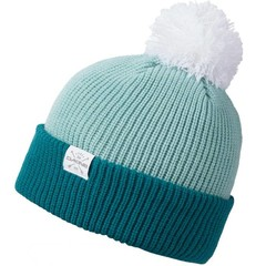 Dakine Elmo Bobble Beanie Hat Harbor / Dusty Jade