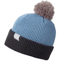 Dakine Elmo Bobble Beanie Hat Black/Chill Blue