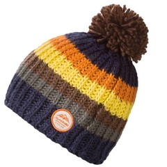 Dakine Gordon Bobble Beanie Hat Moroccan Blue