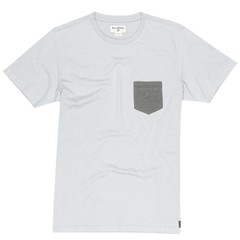 Billabong All Day Pocket SS T-Shirt Light Grey Heather