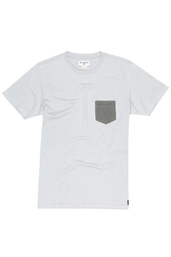 Billabong All Day Pocket SS T-Shirt Light Grey Heather