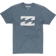 Billabong Ghosted SS T-Shirt Navy