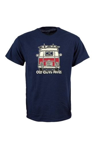 Old Guys Rule Good Vibrations T-Shirt Navy