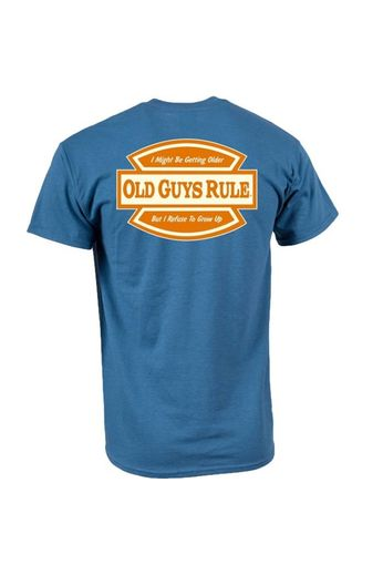 Old Guys Rule Refuse To Grow Up T-Shirt