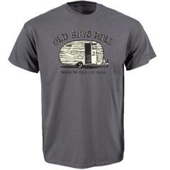 Old Guys Rule Road Less Taken T-Shirt