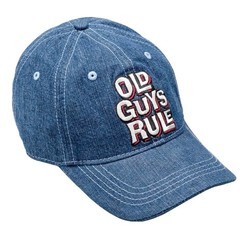 Old Guys Rule Aged To Perfection Cap - Denim Stone