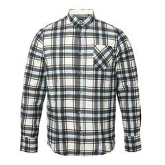 Ernest L/S Shirt Grey/Light Blue