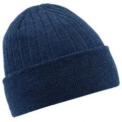 Beechfield Thinsulate Beanie Hat - Navy