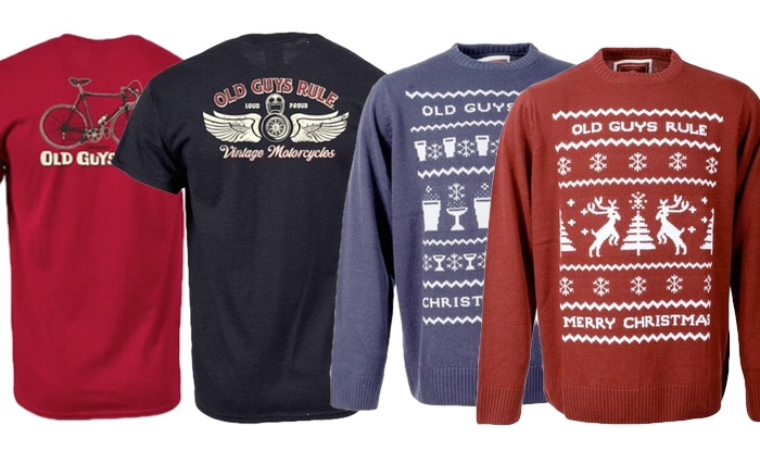 OGR Christmas Jumper and T-shirts