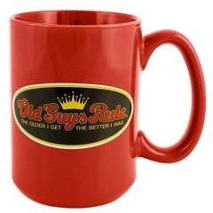 Old Guys Rule Older I Get Mug