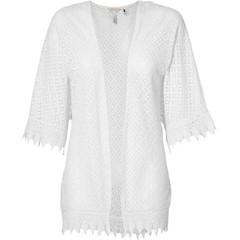 O'Neill Clothing Lace Kimono Powder White