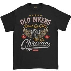 Oldies Club Old Bikers T-Shirt Black