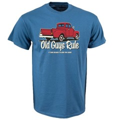Old Guys Rule It Took Decades Red Truck T-Shirt