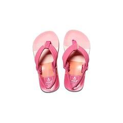 Reef Little Ahi Flip Flops Pink Stripes