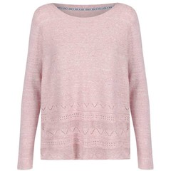 Passenger Swash Jumper Blush Marl