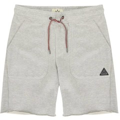 Passenger Slacker Jogger Shorts Grey Marl