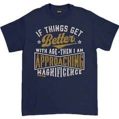 Oldies Club If Things Get Better With Age T-Shirt Navy