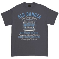 Oldies Club Old Banger T-Shirt Charcoal