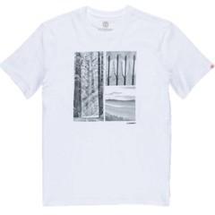 Element Redwood SS T-Shirt Optic White