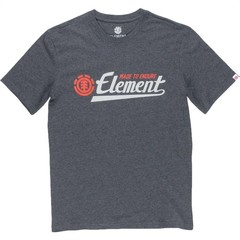 Element Signature SS T-Shirt Charcoal Heather