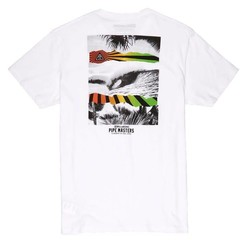 Billabong Pipe Collage SS T-Shirt White