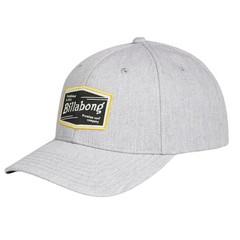 Billabong Walled Snapback Cap Grey Heather