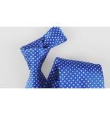 English Fashion Polkadot light blue Tie