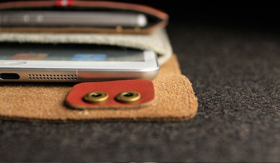 English Fashion Wool Felt Sleeve iPad Mini case (8 inch Tablet)