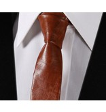 English Fashion Leren Stropdas - Skinny Tie