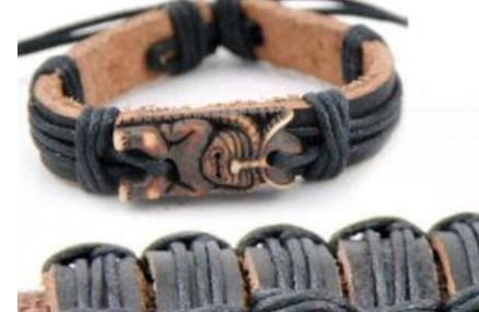 English Fashion Maori Armband Tiki Totem