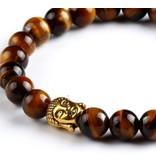 English Fashion Budha Bracelet Natural Stones