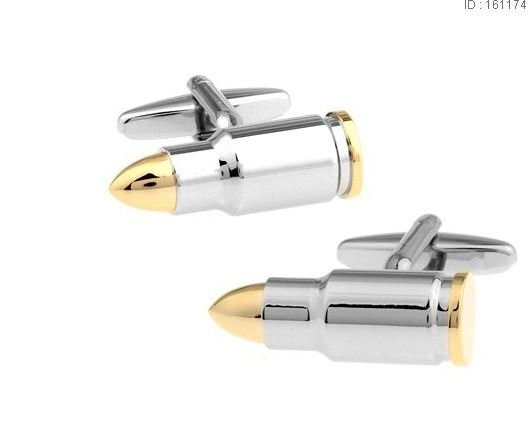English Fashion Bullet Cufflinks