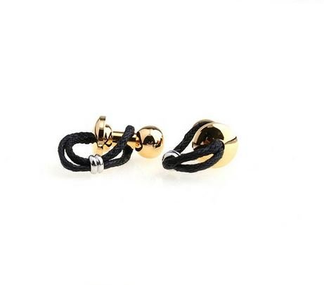 English Fashion Cufflinks with ships rope