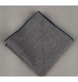 English Fashion Trendy Handkerchief Grey