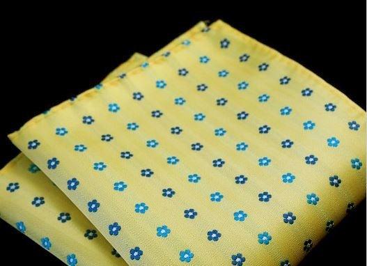 English Fashion Yellow Handkerchief Flowers