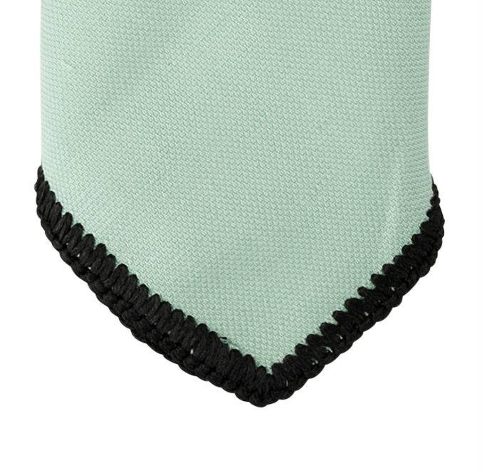 English Fashion Wollen Pochet Pastel Groen
