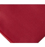 English Fashion Dark red Satin Hanky