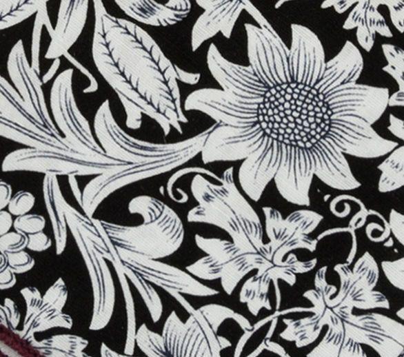 English Fashion Pochet Lichtblauw Floral