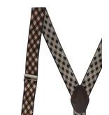 English Fashion Suspenders dark diamond