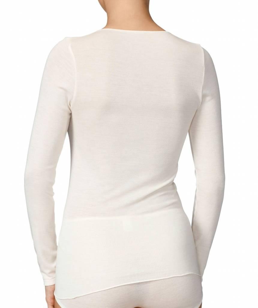 Calida Ecru hemd wol/zijde