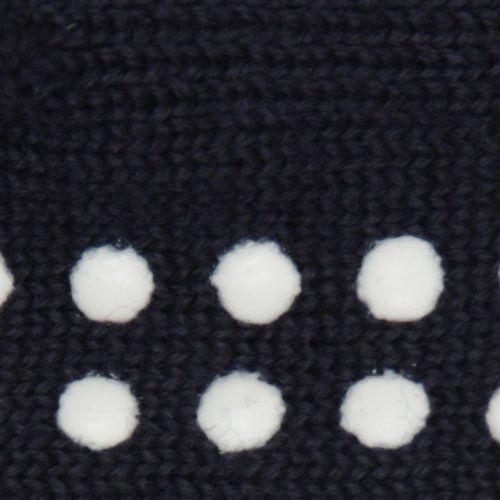 Hirsch Natur Anti slip sokken wol marine