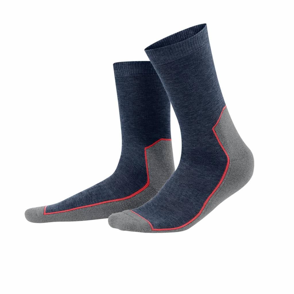 Living Crafts Wollen sport-/wandel-  sokken  wol en biokatoen en  elastan