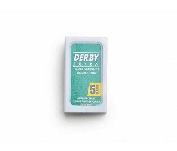 Derby safety razor mesjes doosje van 5 stuks