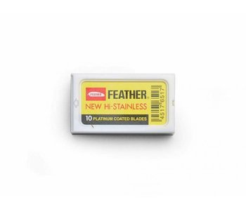 Feather safety razor mesjes
