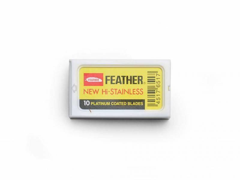 Feather safety razor mesjes