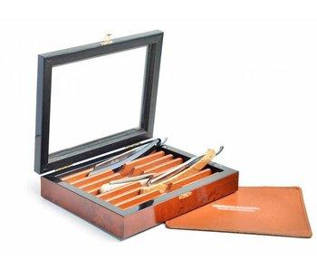 Thiers-Issard luxe doos voor 7 open scheermessen